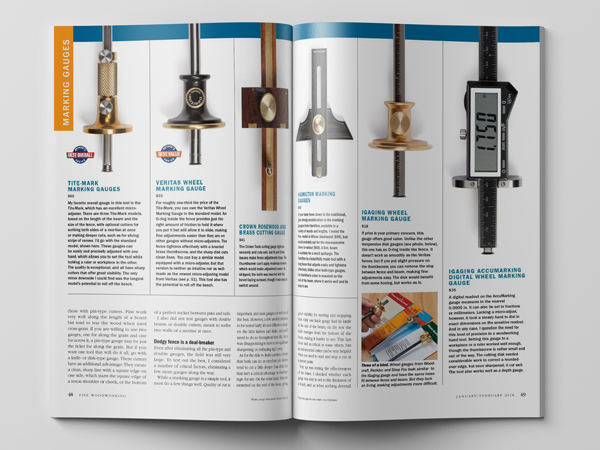 Hand tools review by Fine Woodworking Magazine.